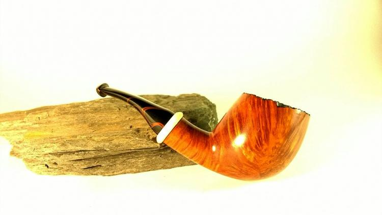 Alex Chekanov Smoking Pipe